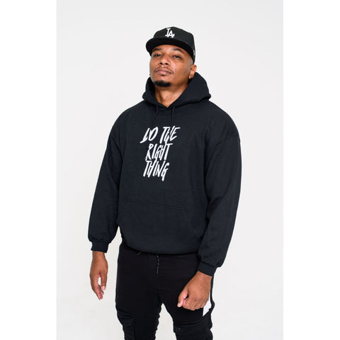 TroyInLA Do the Right Thing Black Hoodie