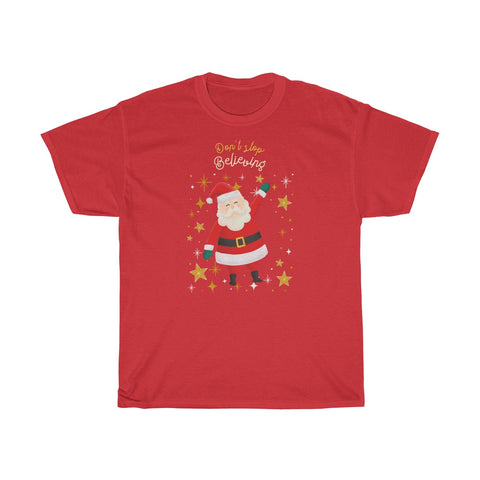Believe in Santa Dollar $ T-shirt