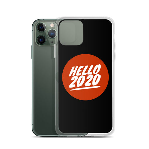 Hello 2020 Dollar iPhone Case