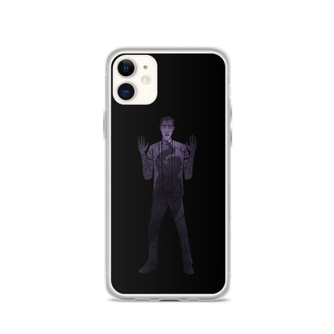 Mort Anims Horror design iPhone Case