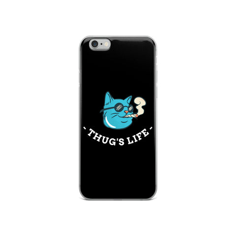 Thug's Life Dollar iPhone Case