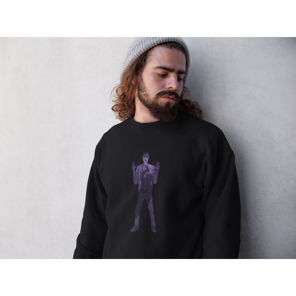 Mort Anims Horror design Sweatshirt