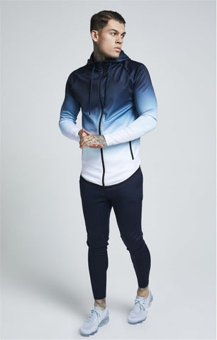 Mens 3d Zipper Casual Tracksuit Dollar Hoodie