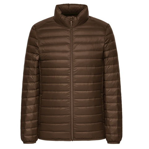 Down Jacket Men Winter Portability Warm 90% White Duck Down