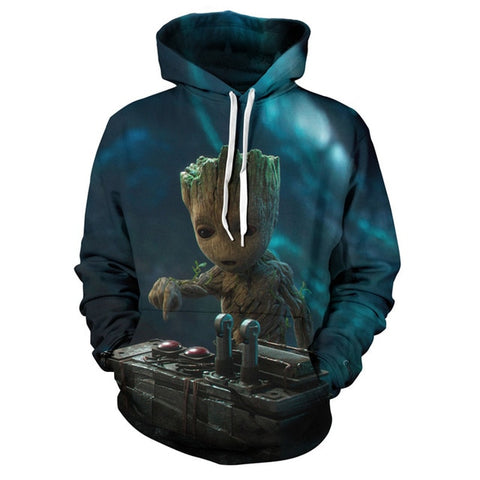 Guardians of the Galaxy Groot  3D Hoodie