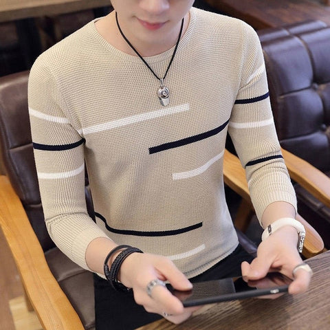 High Quality Men's Knitted Sweaters And Pullovers