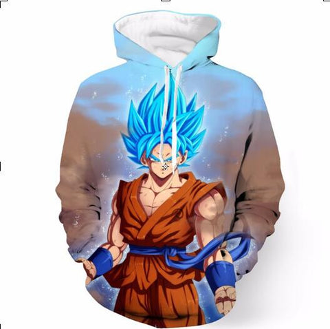 Anime Dragon Ball 3D Hoodies