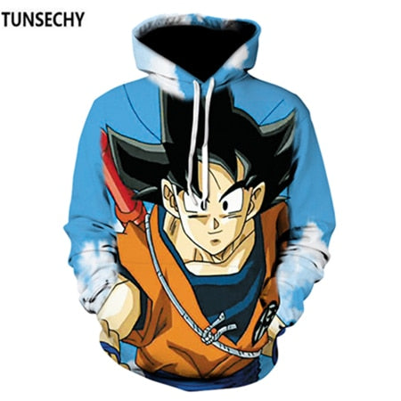 Dragon Ball 3D Dollar Hoodie