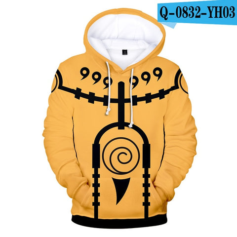 Anime 3D Dollar Hoodies