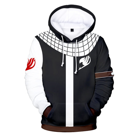 Anime Fairy Tail 3D Dollar Hoodies