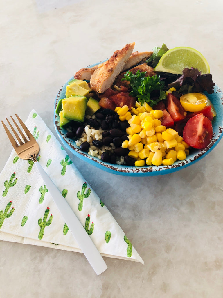 Mexican Inspired Nourish Bowl