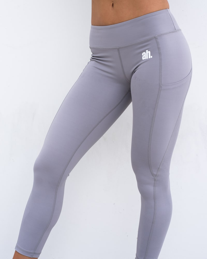 7599a397821be Women's Grey Workout Tights - Signature Series | Shop Active House – Active  House