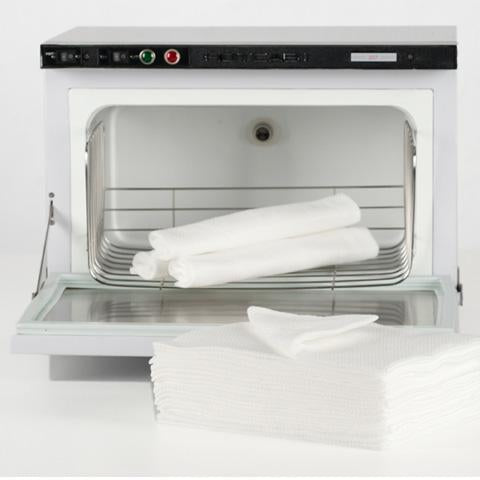 White Embossed Towels (Box of 600)