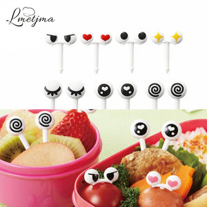 Kawaii Eyes Fruit Fork Set