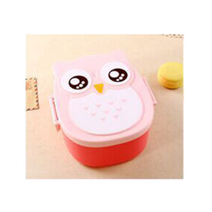 1 Piece Kids Owl Bento Box