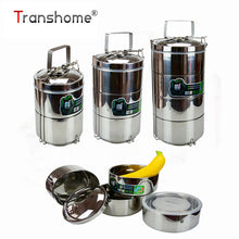 Multilayer Stainless Steel Dinnerware Bento Box Sets