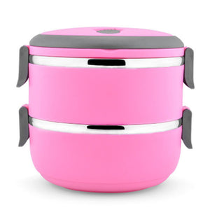 Round Multilayer Bento Boxes