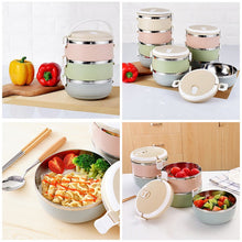 Vacuum Insulated Stackable Bento Boxes