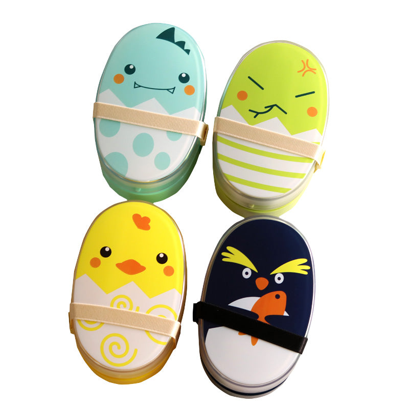 Cute Kids Animal Character Bento Boxes