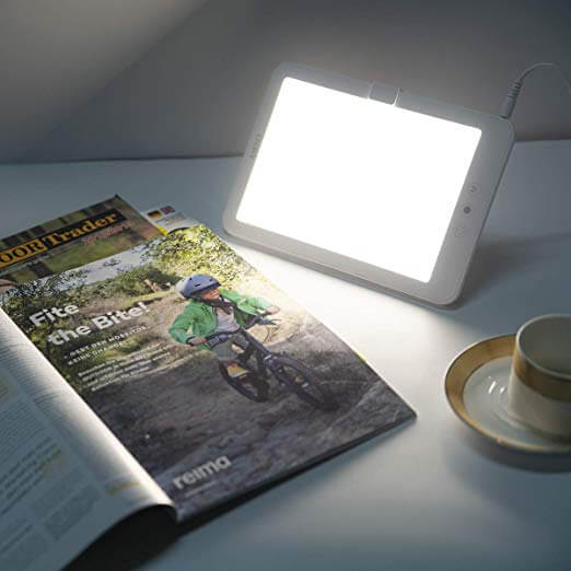 AIRSEE Light Therapy Lamp,happy light,SAD Lamp,Sun Lamp,for depression