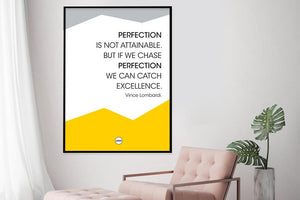 PERFECTION IS NOT ATTAINABLE - Motivate Heroes