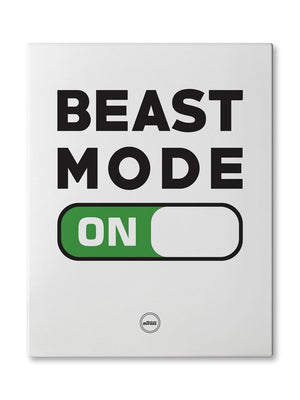 BEAST MODE ON - CANVAS PRINT - Motivate Heroes