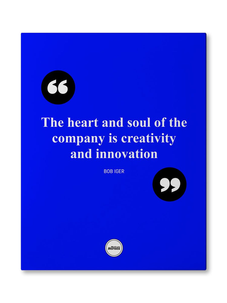 THE HEART AND SOUL OF THE COMPANY  - CANVAS PRINT