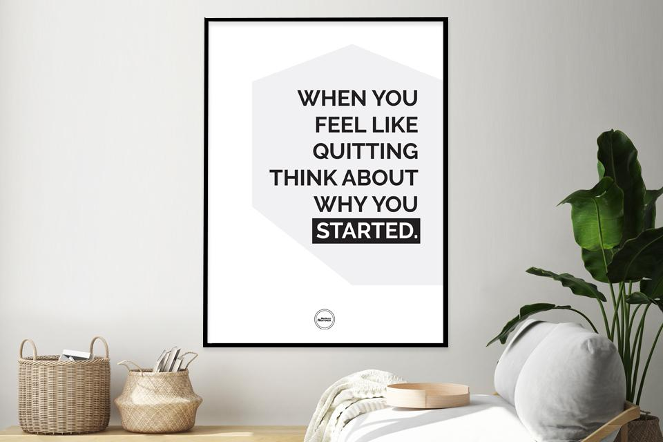 WHEN YOU FEEL LIKE QUITTING - Motivate Heroes