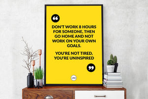 DON'T WORK 8 HOURS FOR SOMEONE - Motivate Heroes