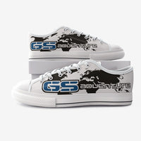 GS Adventure Canvas Schuh Seeklogo white-blue-black (Unisex)