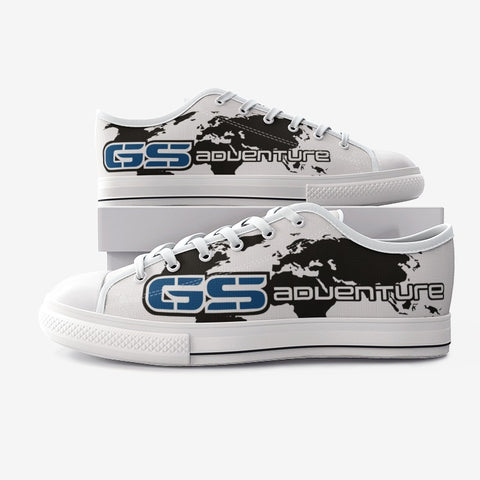 GS Adventure Canvas Freizeit Schuh white-blue-black (Unisex)