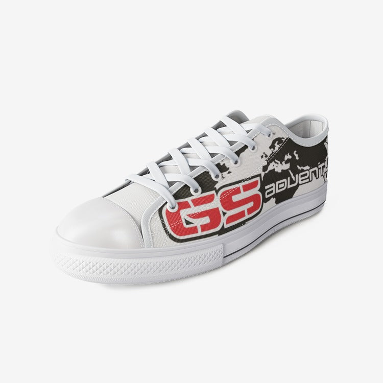 GS Adventure Canvas Freizeit Schuh white-red-black (Unisex)