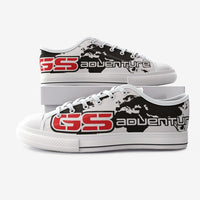 GS Adventure Canvas Schuh Seeklogo white-red-black (Unisex)
