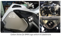 Carbon Emblem Eckenset black-white