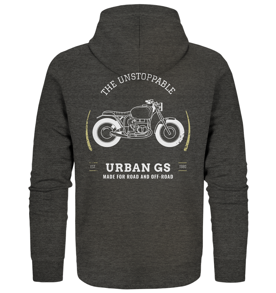 URBAN GS Made for Road and Off Road  - Organic Premium Zipper