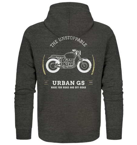 GS Motorrad URBAN G/S Made for Road and Off Road  -  Premium Full Zipper Jacke für SIE & IHN