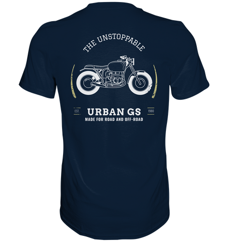 GS Motorrad URBAN Style - Made for Road and Off Road  - Premium Shirt