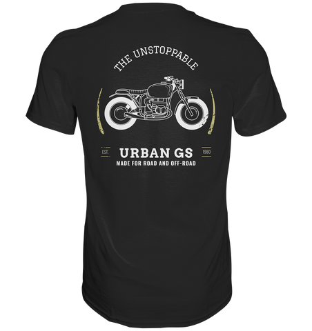 GS URBAN - Made for Road and Off Road  - Premium Shirt