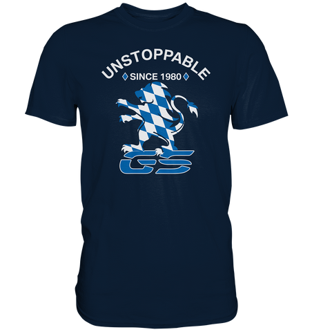 GS UNSTOPPABLE - Since 1980 - 40 Jahre GS Homage - Premium Shirt