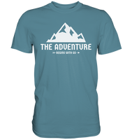 GS »THE ADVENTURE Begins with GS« - Premium Shirt