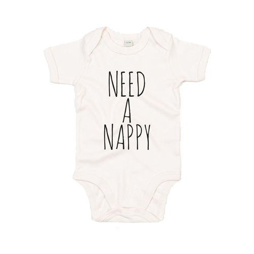 'Need A Nappy' Baby Grow