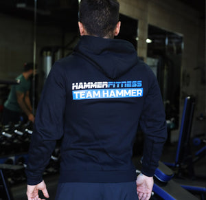 Hammer Fitness Original Zip Up Hoodie