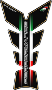 "TANK PAD ""PERFORMANCE"" ITALIAN FLAG - Onedesign Corp"