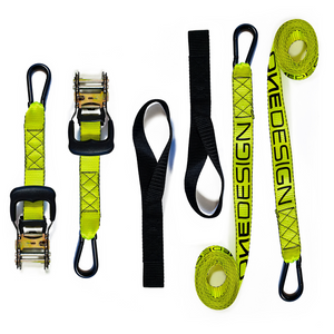 PROFESSIONAL GRADE UNIVERSAL RATCHET STRAP EVO - Onedesign Corp