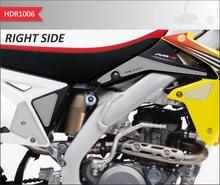 Load image into Gallery viewer, FIT 2008-2019 SUZUKI (INCLUDE 2 PRIMER STICK) RM/RMX Z450/450Z HDR SIDE PAD TRANSPARENT(VARIOUS MODELS) - Onedesign Corp