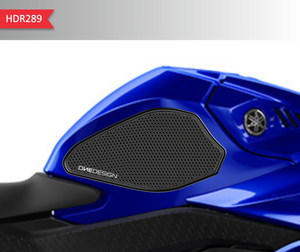 2019-2020 YAMAHA R3 SIDE PAD HDR BLACK - Onedesign Corp