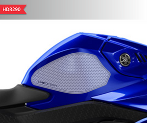 2019-2020 YAMAHA R3 SIDE PAD HDR TRANSPARENT - Onedesign Corp