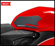 "Load image into Gallery viewer, FITS DUCATI V2 HDR SIDE PAD GRIP BLACK ""NEW"""