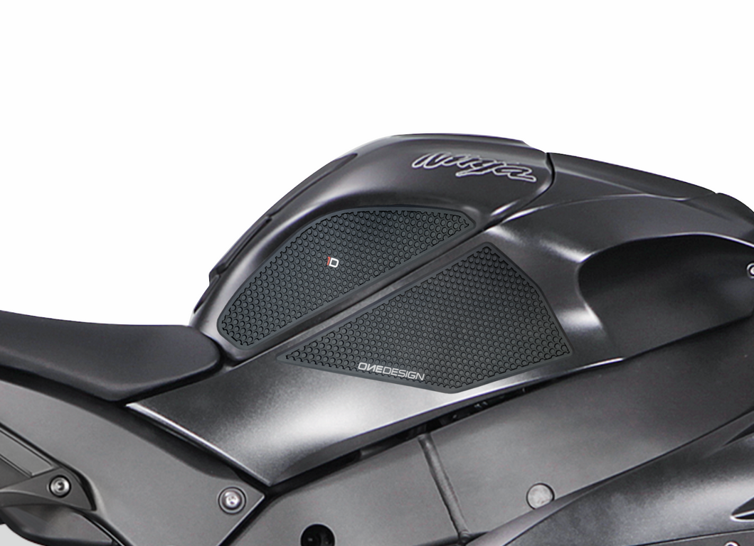 FIT 2011-2019 KAWASAKI ZX10R HDR SIDE PAD BLACK - Onedesign Corp