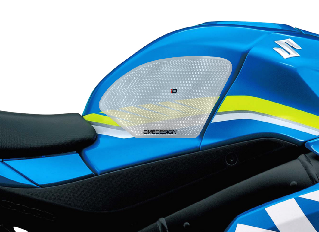 2017-2019 SUZUKI GSXR 1000 HDR SIDE PAD TRANSPARENT - Onedesign Corp